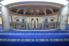 Interior of a mosque Stock Image