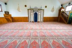 Interior of mosque Stock Photos