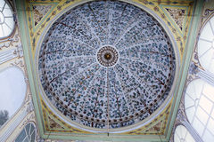 Interior of the mosque in istanbul. 20 july, 2014 Stock Images
