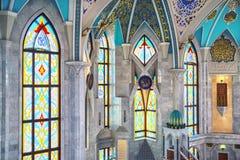 Interior of Mosque in Kazan, Russia Stock Photo