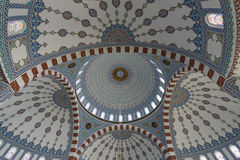 The interior of the mosque in Konakli Stock Photos