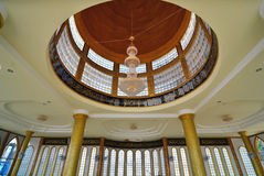 Interior of Mosque in Panyee Island, Thailand Royalty Free Stock Image