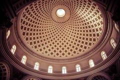 Interior of Mosta Dome Stock Photo