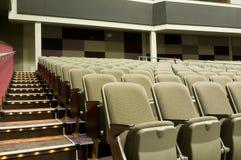 Interior of Movie Theater Stock Image
