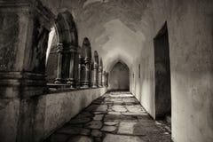 Interior of Muckross Abbey(2). The interior of Muckross Abbey,Killarney,County Kerry,Ireland Royalty Free Stock Photos