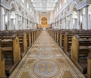 Interior of Mullingar Cathedral Ireland Stock Image
