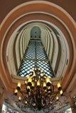 The interior in multi-storey  hotel Stock Photo