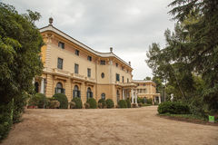 Palau de Pedralbes in Barcelona, Stock Photography