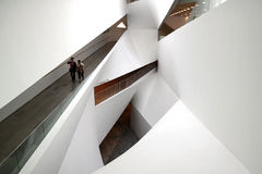 The interior of the Museum of Art, Tel Aviv Stock Image
