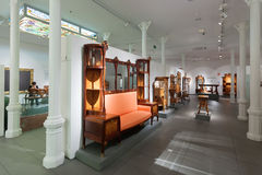 Interior Of Museum Of Catalan Modernisme In Barcelona Editorial ...