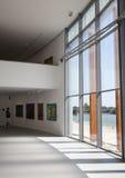 Interior of museum Danubiana, Bratislava - Slovakia Stock Images