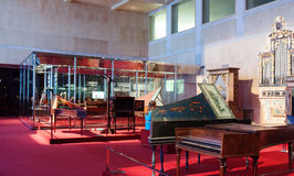 Interior of Museum of Music. Barcelona Royalty Free Stock Image