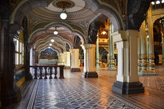 Interior of Mysore palace, India Stock Photography