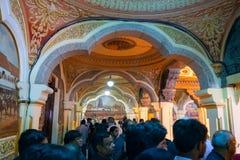 Interior of Mysore Palace, Karnataka, India stock photography