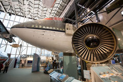 Interior of the National Air and Space Museum located in Washington DC,USA Royalty Free Stock Photography