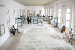 Interior of National Museum in Carthage Royalty Free Stock Photo