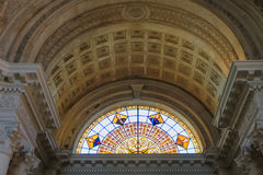 Interior of National Pantheon of the Heroes in Asuncion, Paragua Stock Photography