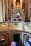 Interior of National Pantheon of the Heroes in Asuncion, Paragua Royalty Free Stock Photography
