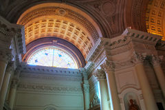 Interior of National Pantheon of the Heroes in Asuncion, Paragua Royalty Free Stock Image