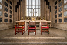 Interior of the National Pantheon in Santo Domingo, Dominican Republic Royalty Free Stock Photos