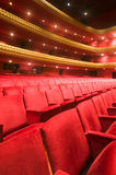 Interior national theater nicaragua. Ruben Dario National Theater Managua Nicaragua interior plush red velvet seats Central America Stock Images