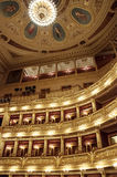 The interior of the National Theater in Prague Royalty Free Stock Photos
