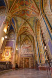 Interior of the neo-Gothic Saint Peter and Paul Cathedral,Vysehr Stock Photo