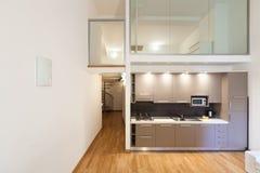 Interior new apartment Stock Image