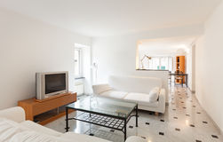 Interior new apartment Royalty Free Stock Photography
