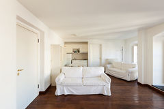 Interior new apartment Royalty Free Stock Images