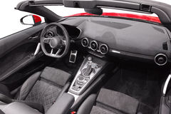 Interior of new Audi TT Stock Photos