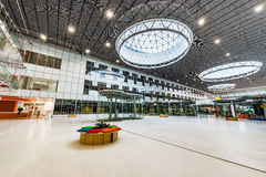Interior of the new building in Skolkovo Technopark. Royalty Free Stock Image
