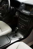Interior of the new car Royalty Free Stock Photography