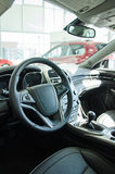 Interior of new car. Royalty Free Stock Photography