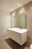 Interior new house, bathroom Stock Photography