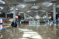 New International Istanbul Airport royalty free stock images