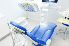 Interior of new modern dental clinic office Royalty Free Stock Photos