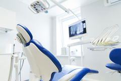 Interior of new modern dental clinic office Royalty Free Stock Photography