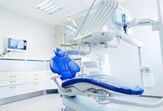 Interior of new modern dental clinic office Royalty Free Stock Image