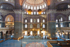 Interior of the New Mosque Royalty Free Stock Photos