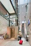Interior new railway station Breda, Netherlands Stock Photo
