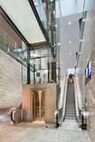 Interior new railway station Breda, Netherlands Stock Image