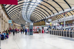 Interior of Newcastle Train Station royalty free stock images