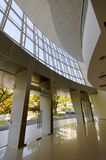 Interior of newly constructed building Royalty Free Stock Images