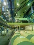Interior of Newsprinting plant Stock Photography