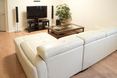 Interior of a nice living room Royalty Free Stock Image