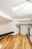 Interior nice loft, empty Stock Photography