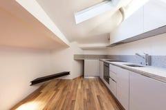 Interior nice loft, empty Stock Images