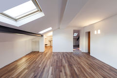 Interior nice loft, empty Stock Photo