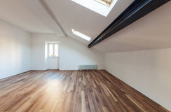 Interior nice loft, empty Royalty Free Stock Photography